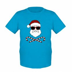 Дитяча футболка Fashionable Santa