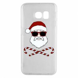 Чохол для Samsung S6 EDGE Fashionable Santa