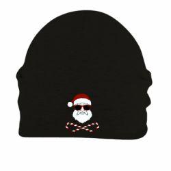 Шапка на флісі Fashionable Santa