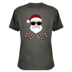 Камуфляжна футболка Fashionable Santa