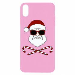 Чохол для iPhone X/Xs Fashionable Santa