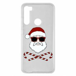Чохол для Xiaomi Redmi Note 8 Fashionable Santa