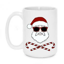 Кружка 420ml Fashionable Santa