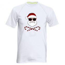 Чоловіча спортивна футболка Fashionable Santa
