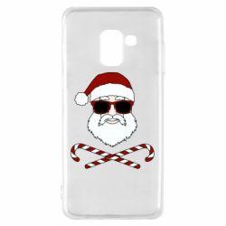 Чохол для Samsung A8 2018 Fashionable Santa