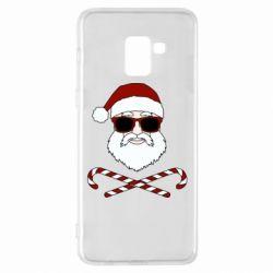 Чохол для Samsung A8+ 2018 Fashionable Santa