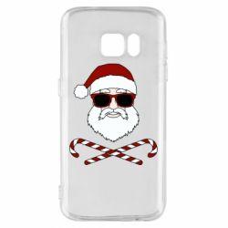 Чохол для Samsung S7 Fashionable Santa