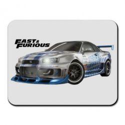Коврик для мыши Fast and Furious - FatLine