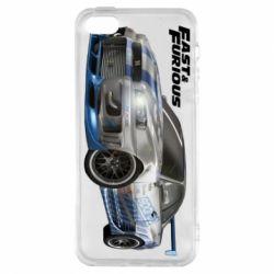 Чехол для iPhone5/5S/SE Fast and Furious - FatLine