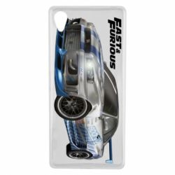 Чехол для Sony Xperia X Fast and Furious - FatLine