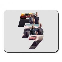 Коврик для мыши Fast & Furious 7