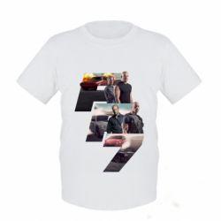 Детская футболка Fast & Furious 7