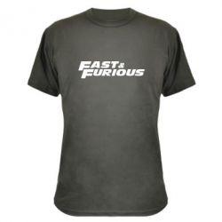 Камуфляжная футболка Fast & Furious