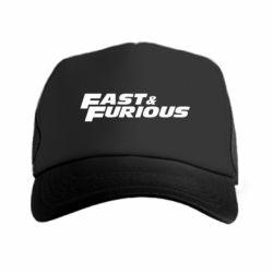 Кепка-тракер Fast & Furious