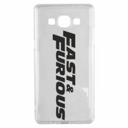 Чохол для Samsung A5 2015 Fast & Furious