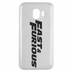Чохол для Samsung J2 2018 Fast & Furious