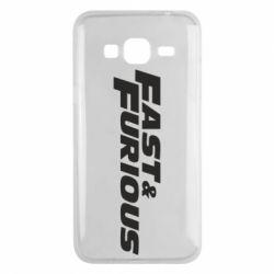 Чохол для Samsung J3 2016 Fast & Furious