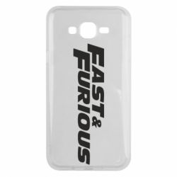 Чохол для Samsung J7 2015 Fast & Furious