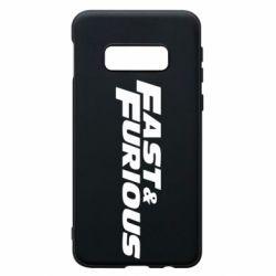 Чохол для Samsung S10e Fast & Furious