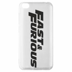 Чохол для Xiaomi Redmi Go Fast & Furious