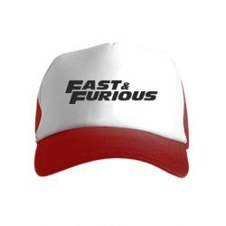 Дитяча кепка-тракер Fast & Furious
