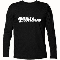 Футболка с длинным рукавом Fast & Furious