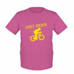 Детская футболка Fast