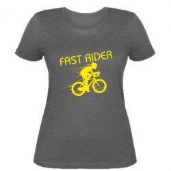 Женская футболка Fast