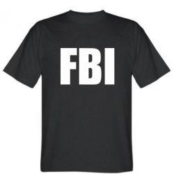 Мужская футболка FBI (ФБР) - FatLine