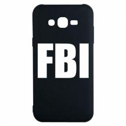 Чехол для Samsung J7 2015 FBI (ФБР)