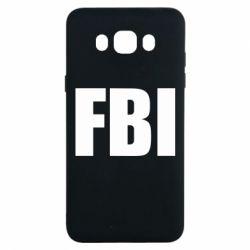 Чехол для Samsung J7 2016 FBI (ФБР)