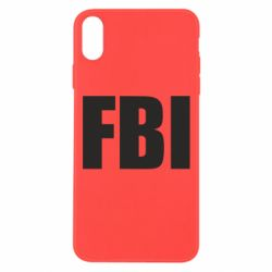Чехол для iPhone Xs Max FBI (ФБР)
