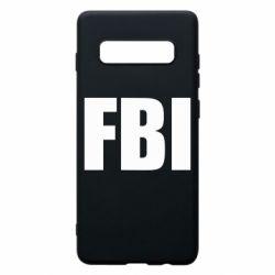 Чехол для Samsung S10+ FBI (ФБР)