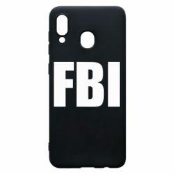 Чехол для Samsung A20 FBI (ФБР)