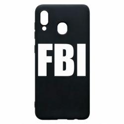 Чехол для Samsung A30 FBI (ФБР)