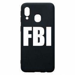 Чехол для Samsung A40 FBI (ФБР)
