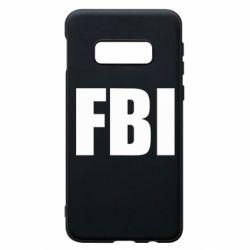 Чехол для Samsung S10e FBI (ФБР)