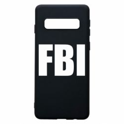 Чехол для Samsung S10 FBI (ФБР)