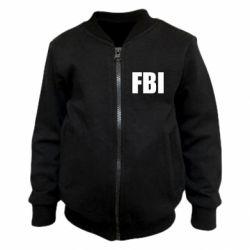 Детский бомбер FBI (ФБР)