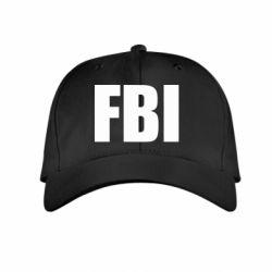 Детская кепка FBI (ФБР) - FatLine