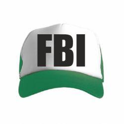 Детская кепка-тракер FBI (ФБР)