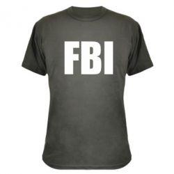 Камуфляжная футболка FBI (ФБР) - FatLine