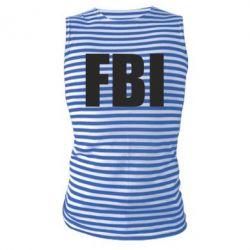 Майка-тельняшка FBI (ФБР) - FatLine