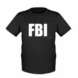 Детская футболка FBI (ФБР)