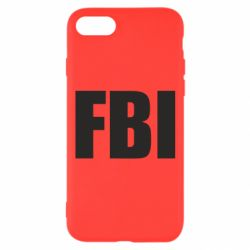 Чехол для iPhone 7 FBI (ФБР)