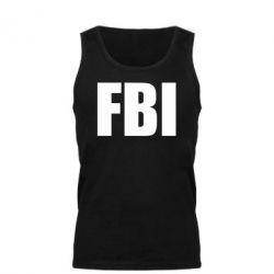 Мужская майка FBI (ФБР) - FatLine