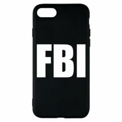 Чехол для iPhone 8 FBI (ФБР)