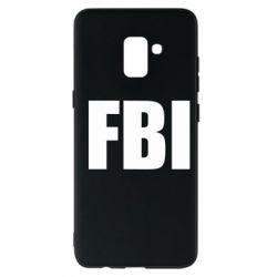Чехол для Samsung A8+ 2018 FBI (ФБР)