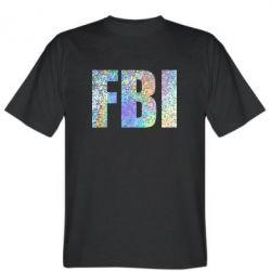 Футболка FBI голограмма