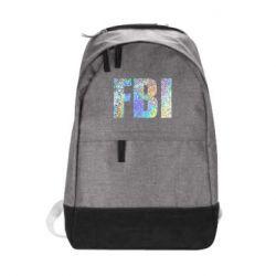 Городской рюкзак FBI голограмма